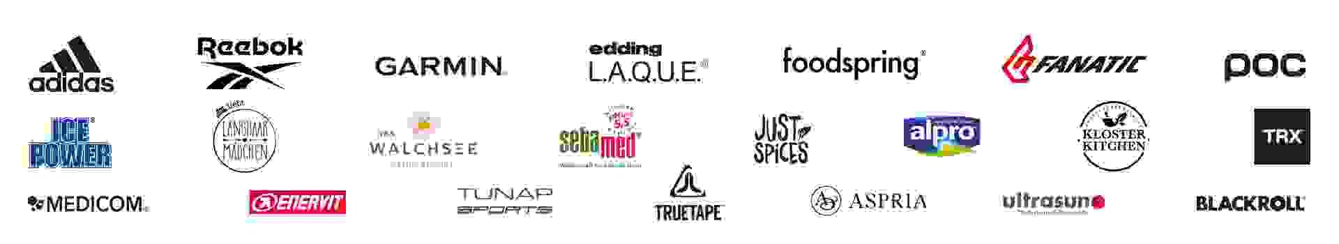 Logos der SportScheck Women PWR Days