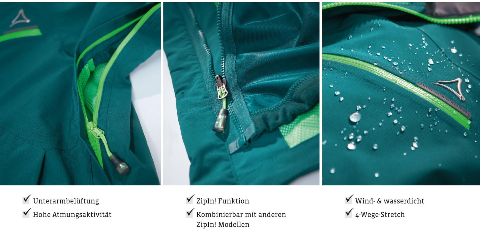 stabile Qualität attraktiv und langlebig Schuhe für billige Das ist das Schöffel Jackensystem ZipIn | SportScheck
