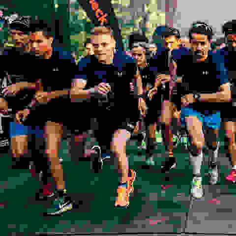 Teilnehmer des SportScheck Runs Hannover beim Start