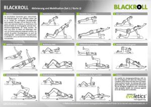 Blackroll Übungsanleitungen zum aktivieren.