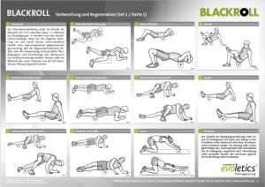 Aufstellung von Übungen mit der Blackroll - 1