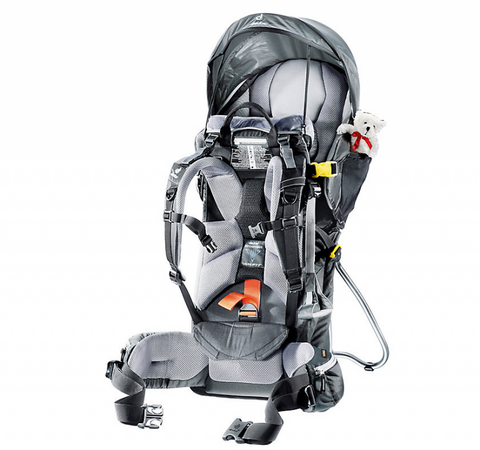 Deuter Kid Comfort 3 Kindertrage Frontansicht.