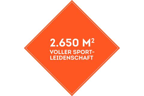 SportScheck Heidelberg auf über 2500 Quadratmeter