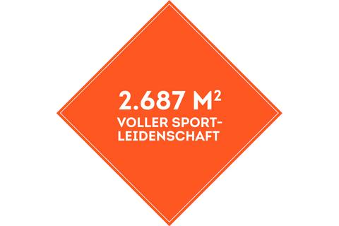 SportScheck Münster auf über 2500 Quadratmeter