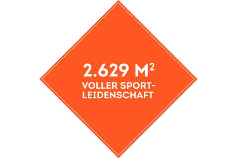 SportScheck Hamburg-Harburg auf über 2500 Quadratmeter