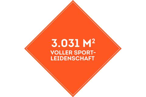 SportScheck Wildau auf über 3000 Quadratmeter