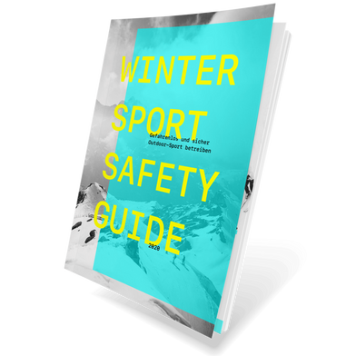 Das Cover des Wintersport Safety Guides