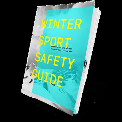 Das Cover des Wintersport Safety Guides